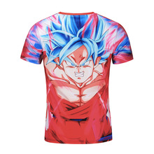 Dragon Ball Z 3D Print short sleeve Casual Men's T-shirt
