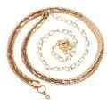 2016 de Moda moda Para Mujer Cinturones de Correa de Las Señoras de la Serpiente de Metal Color Dorado Huesos Correa de la Cintura de la Cadena Cadena Cuerpo Cinturones de Mujer
