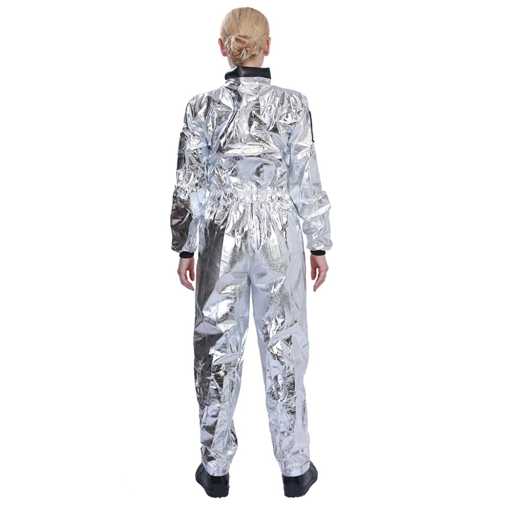 HTB1L2UGBOCYBuNkHFCcq6AHtVXaV - Men Astronaut Alien Spaceman Cosplay Helmet Carnival Adult Women Pilots Outfits Halloween Costume Group Family Matching Clothes