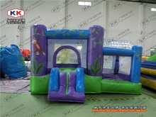 mini bouncer inflatable small size trampoline jumping house inflatable bouncer for family party or family garden