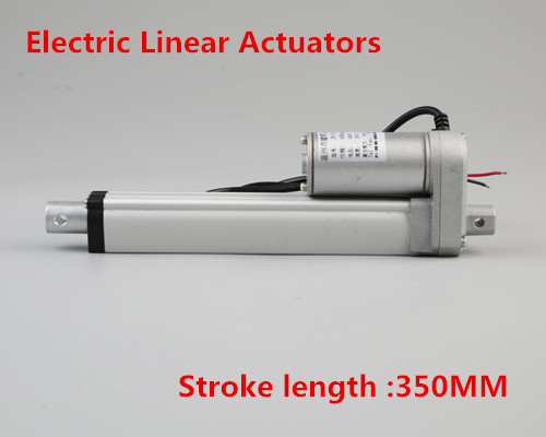 цена на 12V/24V DC Linear Actuators 350mm Stroke 1500N/150KG 330lbs Max Lift Load Linear Motor for Electric Bed