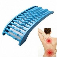 Back Massage Blue Magic Stretcher Lumbar Massage Support Spine Pain Relief Chiropractic Fitness Equipment Stretch Relax Mate