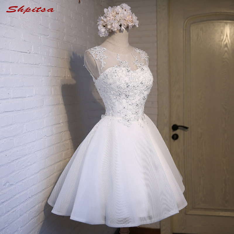 White 8th Grade Short   Prom     Dresses   Fast Delivery Party   Dresses   for Graduation vestidos de formatura festa curto gala jurken
