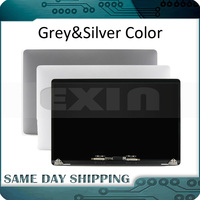 2018 New for Macbook Pro Retina 15.4 A1990 Full LCD Display Screen Complete Assembly Space Gray Grey Silver Color MR932 MR942