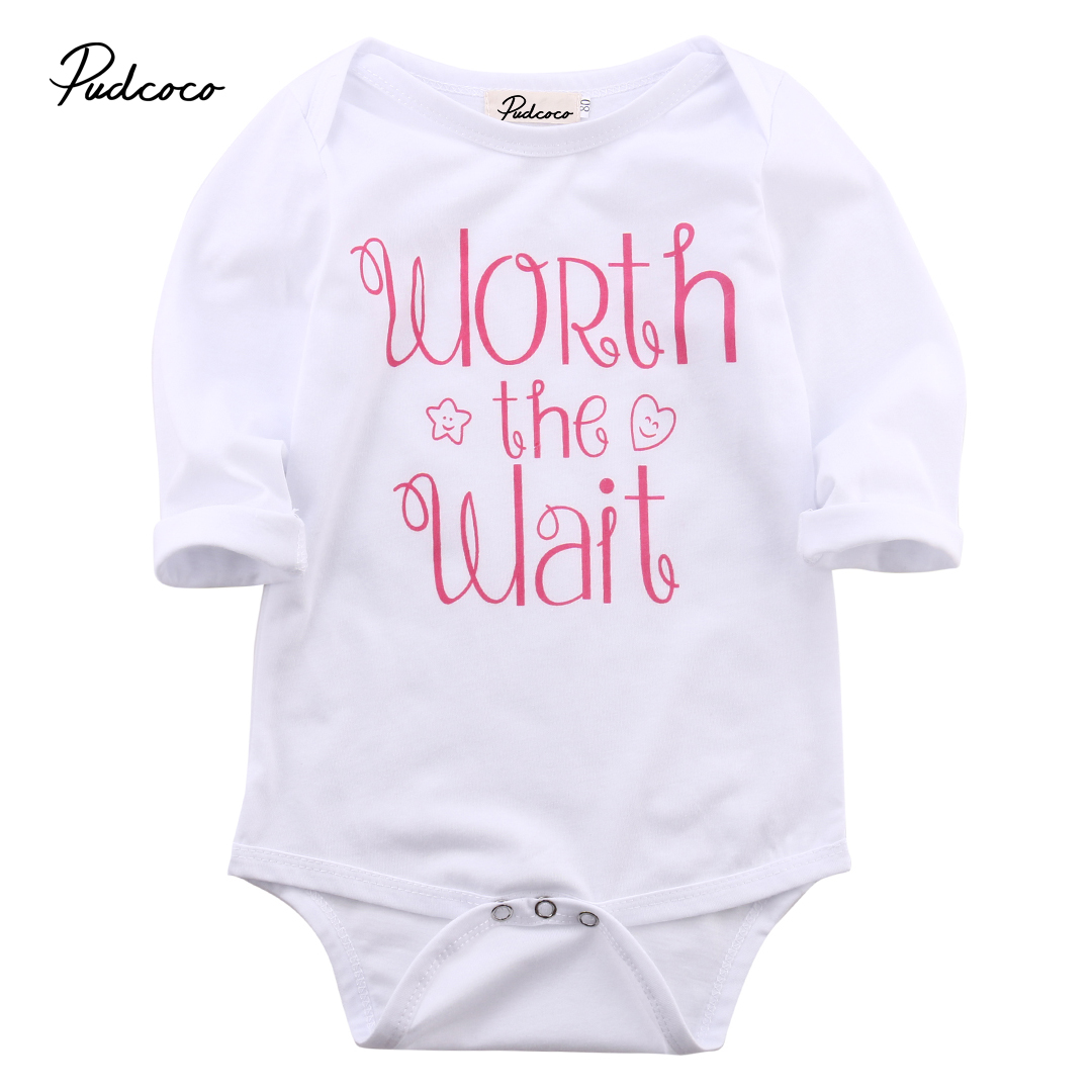 Helen115 Lovely Kids Children Baby Boy Girls Clothes Cotton Full Sleeve Outfit 0-18Months