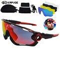 JBR Marca Ciclismo Gafas de Sol polarizadas/Mans En Bicicleta de Montaña Gafas/gafas de Sol Ciclismo Gafas de Deporte Ciclismo MTB de La Bicicleta