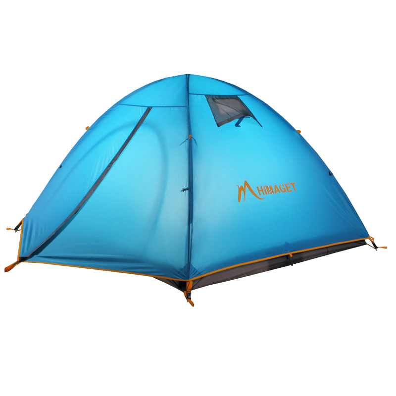 где купить HIMAGET Oudoor Camping Tent 4 Season 3 Person Professional 190T Fabric Double layers Waterproof PU 3000MM Tent дешево