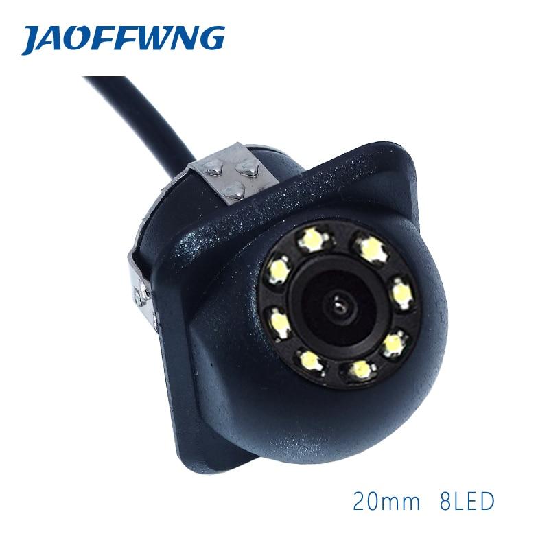 Free Shipping Car Rear View Reversing Camera Small Design Easy Installation Waterproof Reverse Camera 8-Eye Strong LED Light