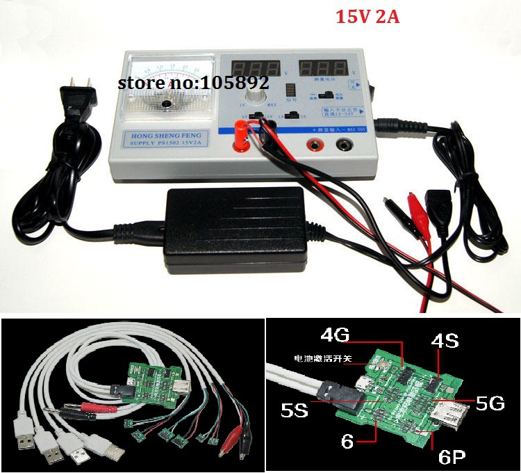 Free shipping PS1502 Mini DC Power Supply Adjustable Digital Regulated power 0-15V 0-2A Dual display for all cell phone repair diy kit dc dc adjustable step down regulated power supply module belt voltmeter ammeter dual display