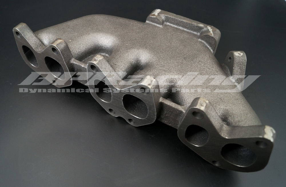 cast iron turbo exhaust manifold for <font><b>VW</b></font> <font><b>VR6</b></font> <font><b>GOLF</b></font>/JETTA / Passat / <font><b>MK3</b></font> MK4 MK5 / Corrado 12V T3/T4 Flange 2.0L I4 V8 image