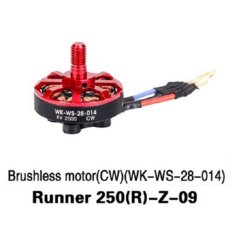 Walkera Runner 250 Advance Drone Accessories Parts Brushless CW Motor (WK-WS-28-014) Runner 250(R)-Z-09
