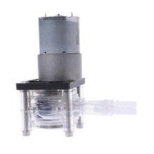 Nova alta qualidade dc 12/24v bomba peristáltica grande fluxo de dosagem bomba vácuo aquário laboratório analítico