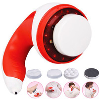 Electric Body Massager Slimming Infrared Fat Burner Neck Back Foot Vibrator Massager Electric Health Care Relaxing