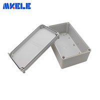 Waterproof Box IP65 Outdoor Junction Box ABS Electronic Case Enclosures For Electronics Clear Cover Housing DIY Free shipping