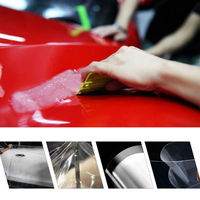 100% TPU Clear Paint Protection Film Air Free Bubbles Car Styling Rhinoceros Film Vinyl Door Edge Paint With Size 152x50cm