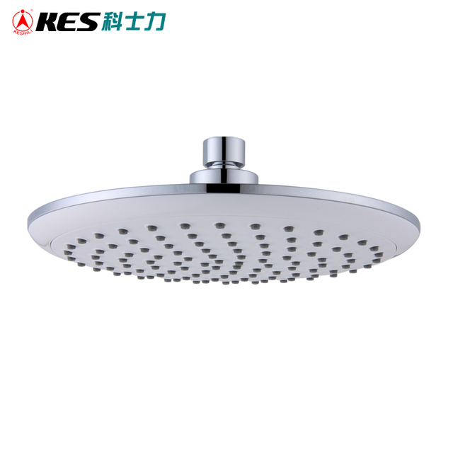Kes J303 Showering Replacement 8 Inch Shower Head Fixed Mount Air Injection Polished Chrome