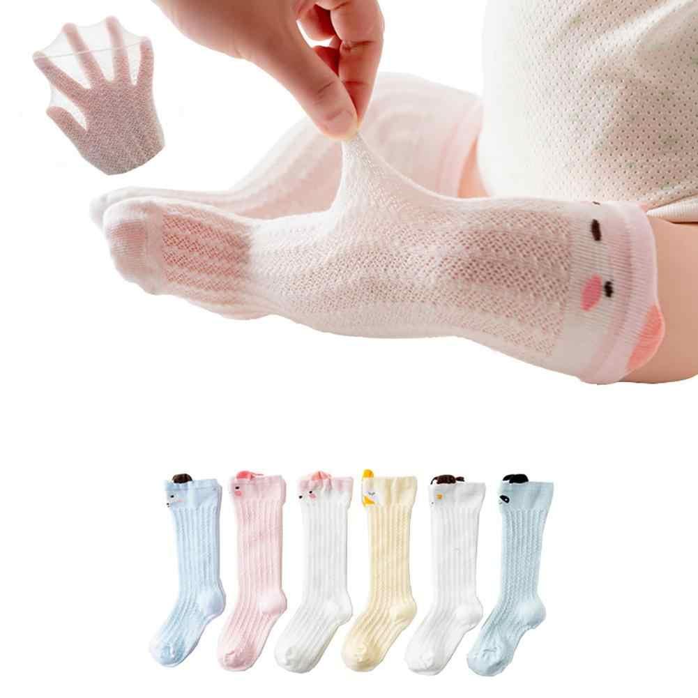 Lindo Animal bebé Primavera Verano algodón rodilla alta a prueba de mosquitos medias para bebé niños ropa de verano