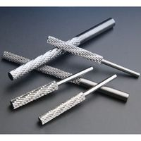 Tungsten Steel Grinding Head Long Rotating File Tungsten Carbide Rotary Burrs Cylindrical Electric TC Cutters Milling