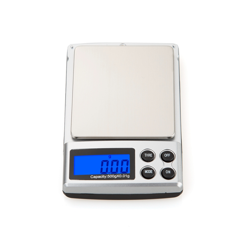 500g 0,01 g nešiojamų elektroninių svarstyklių 500G 0,01 - Matavimo prietaisai - Nuotrauka 4