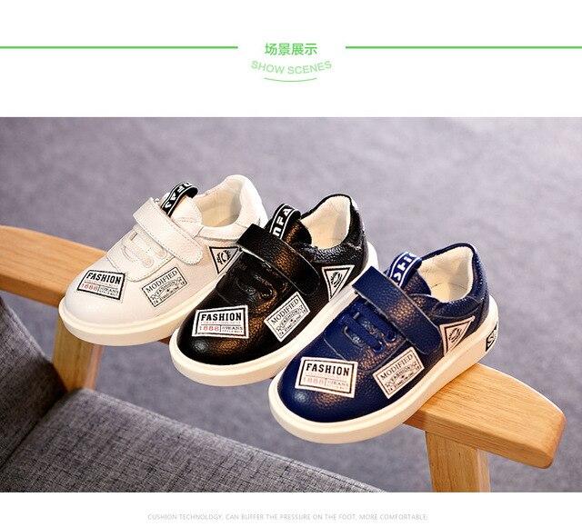 Детская обувь 2016 осень детские мальчики девочки обувь chaussure ребенок моды дышащая мальчики кроссовки