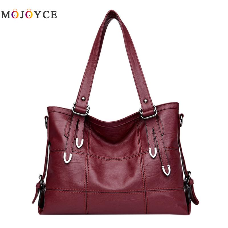 2017 Large Soft Leather Bag Women Handbags Ladies Crossbody Bags For Women Shoulder Bags Female Big Tote Sac A Main Famous Brand 2017 famous brand large soft leather bag women handbags ladies crossbody bags female big tote green top handle bags sac a main