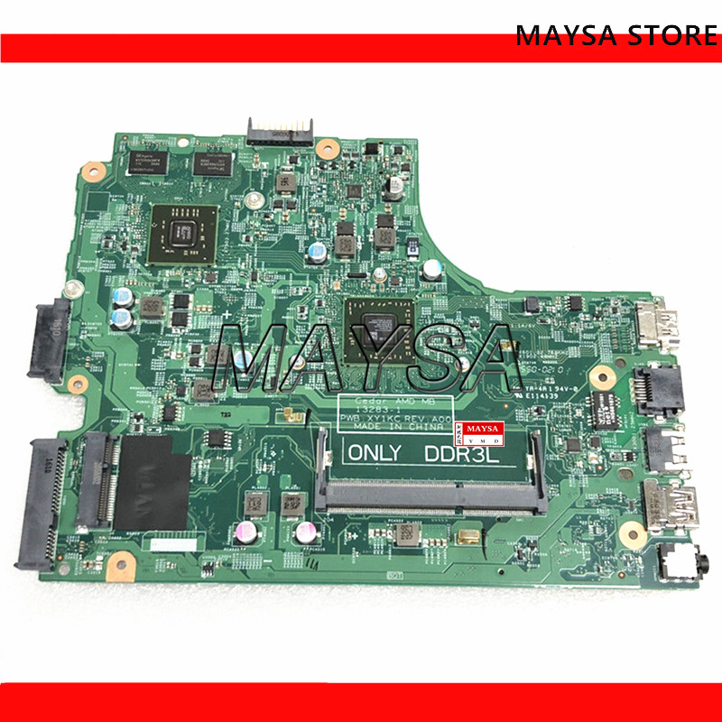 Laptop motherboard A6-6310 for DELL Inspiron 15 3000 3541 3441 3442 3542 3443 3543 PC Mainboard 13283-1 DDR3L CN-04XK49Laptop motherboard A6-6310 for DELL Inspiron 15 3000 3541 3441 3442 3542 3443 3543 PC Mainboard 13283-1 DDR3L CN-04XK49