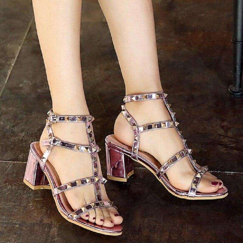 dames d'été simples chaussures minceur sandales arc décoré avec des talons hauts sexy rayures,rouge,36