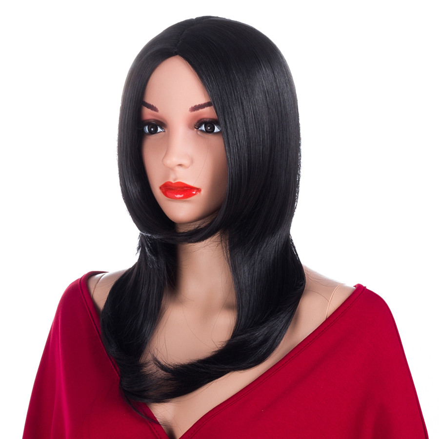 Elegant Muses Straight Wig Synthetic Hair For Women
