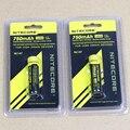 2 pcs Nitecore NL147 14500 bateria 3.7 V 750 mAh 14500 li-ion bateria recarregável frete grátis