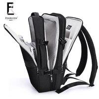 FRN Multifunction USB Recharging Business Backpack Men Women Waterproof Antitheft Laptop Backpack High Capacity Travel Bag