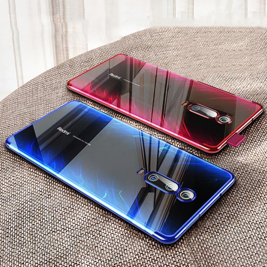 Global Plating For Xiaomi Redmi K20 Pro Case Redmi K20 Pro Soft TPU Protective Phone Cover Xiomi Mi 9T Pro K 20 Note 8 Pro