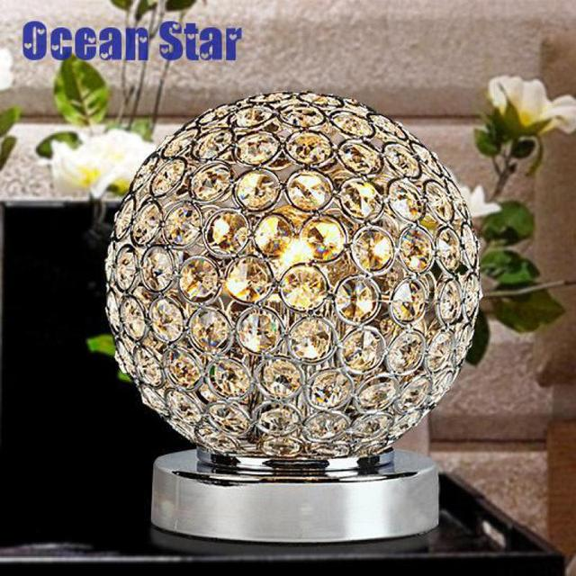 Modern Bedroom Table Lamps Lampada Da Tavolo Led Luminaria De Mesa Power Bank Led Notebook Crystal Night Light