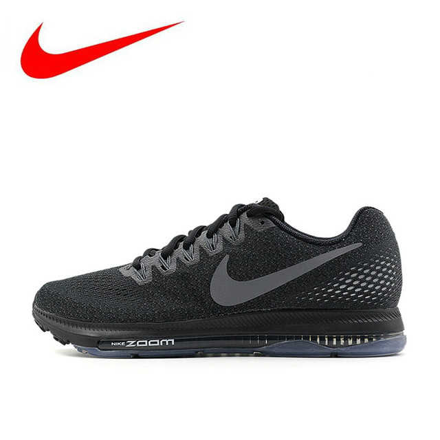 buy online 42834 6e93b New Arrival Nike ZOOM ALL OUT Men s Running Shoes,Original Men Sport  Outdoor Sneakers Air Mesh Shoes,Black,Light