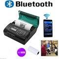 Оптовая 10 ШТ. Мини Беспроводная 80 мм Портативный Bluetooth Тепловой Чековый Принтер для Android/IOS_DHL