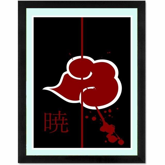 Naruto Akatsuki Anime Toile Art Print Affiche De Peinture Mur Photos