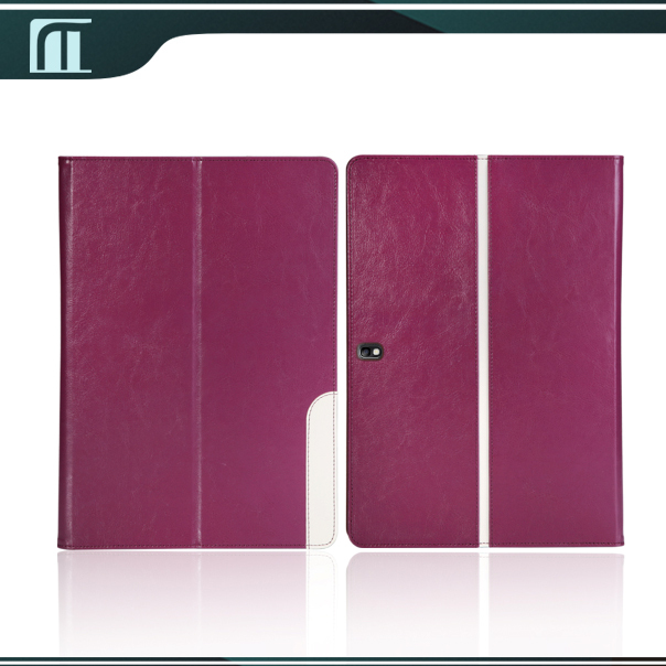 NEW Arrival Luxury PU Leather stand folio case For Samsung GALAXY Tab Pro 10.1 10,1