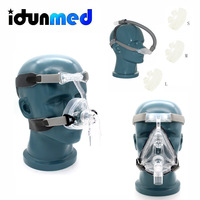 BMC CPAP Mask For Anti Snore Stop Snoring With Adjustable Strap Hose Tubing Portable Breathing Apparatus Accessories Supplies