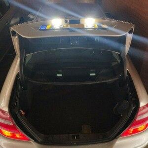 Image 5 - Für Benz GLK X204 GLK350 6000 K EIN Paar 24 Lizenz Platte Licht Geändert Mit Original Position LED Kennzeichen licht Montage