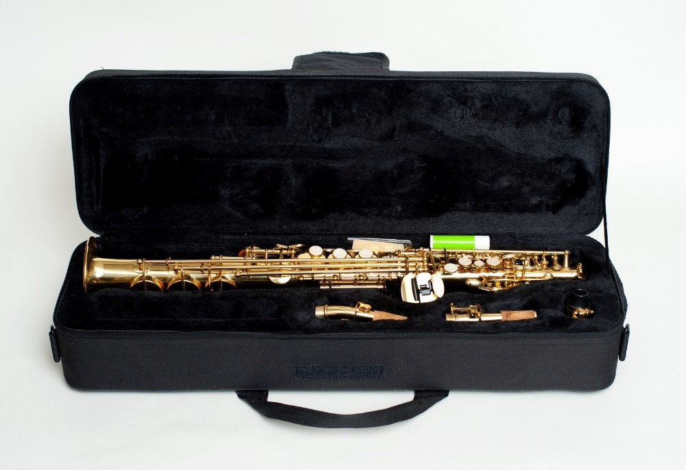 MARGEWATE Mark VI Soprano B flat Soprano Saxophone Professionally Straight Sax Top Musical Instruments HIGH COPPER BRASS soprano saxophone bb wind instrument sax western instruments black saxofone saxofon soprano musical instruments black saxofon
