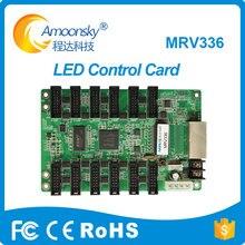 Aluguel levou exibição de vídeo wall MRV336 Novastar LEVOU cumprir novastar receber cartão msd300 para p3 full color tela led p4 p6