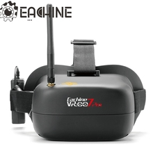 Nueva Versión Eachine VR-007 Pro VR007 Pro 5.8G 40CH Anteojos FPV 4.3 Pulgadas de Vídeo Auricular Con 3.7 V 1600 mAh de La Batería