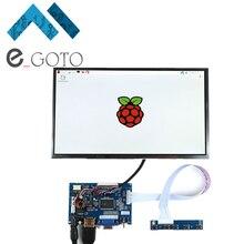 Big discount 10.1″ Inch 1280*800 HD LCD Display Module Kit AV + VGA + HDMI Kit Monitor for Raspberry Pi 3/2 Model B and Raspberry Pi B+ B A+