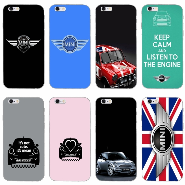 classic fit da2e7 a276c US $1.99 |car mini cooper logo silicone Soft phone case For iPhone 4 4s 5  5s 5c SE 6 6s plus 7 7plus 8 8plus X-in Fitted Cases from Cellphones & ...