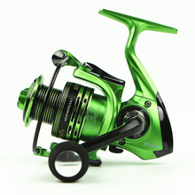 Superior Aluminum Carp Fishing Spinning Reel Fishing Reels Fishing 13 + 1BB 3 Color Green Gold Red 1000 – 700