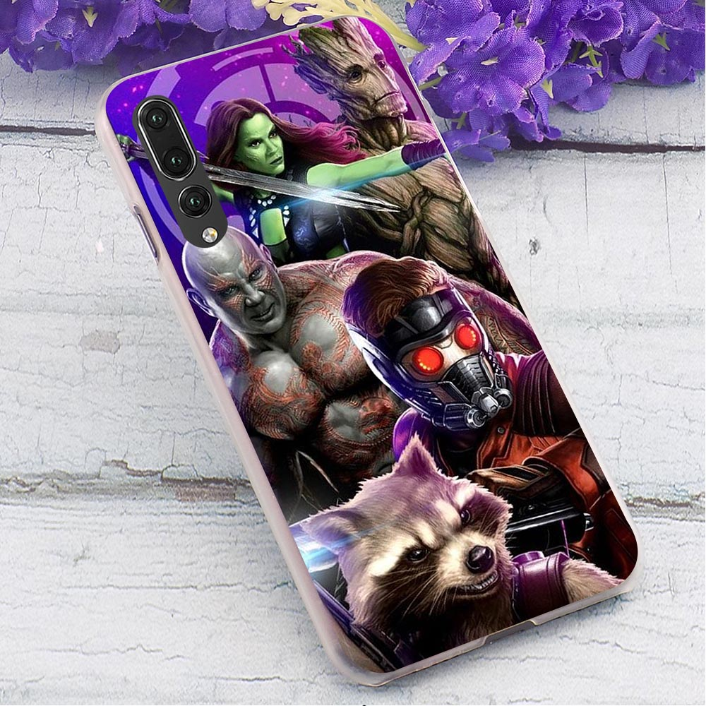 Guardians Hard Case for Huawei Y6 2018 Hybrid Phone Cover for Huawei Honor Y9 Nova3i 6A 7A pro 8 Lite Cases Back in Fitted Cases from Cellphones Telecommunications