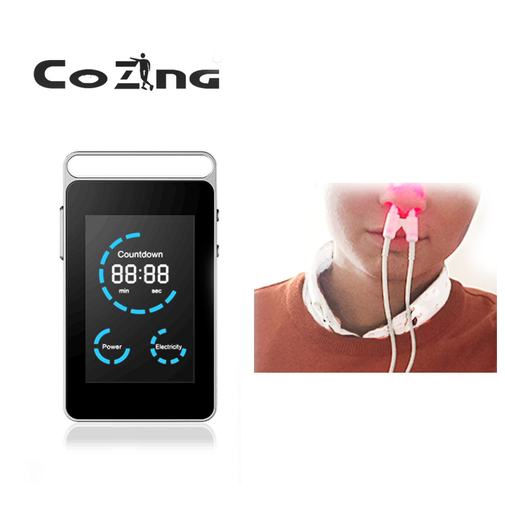 Advanced personal health care 650nm cold laser allergy rhinitis treatment device