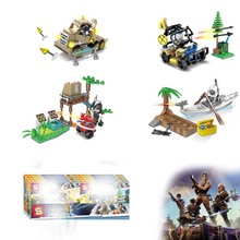 4pcs/lot Fortnight Breaking Bad Walter White Jesse Pinkman Hank Schrader Saul Goodman Building Blocks Toys For Children Gifts цена и фото