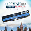 6 Células Bateria de Laptop NOVO para GateWay NV4005C NV4429C NV4809C NV4810C NV4811C NV4406C NV4402C NV4005c NV4400 NV44 NV48 NV4414c