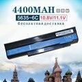 6 Cell NUEVA Batería Del Ordenador Portátil para GateWay NV4400 NV44 NV4005C NV4429C NV4809C NV4810C NV4005c NV4811C NV4402C NV4406C NV4414c NV48