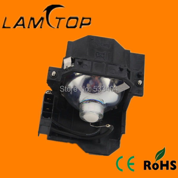 Free shipping   LAMTOP  compatible  projector lamp with housing/cage  for   EMP-822/EMP-822H стоимость